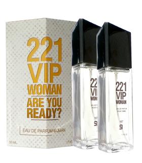 Perfume Imitación 212 Vip CH Mujer